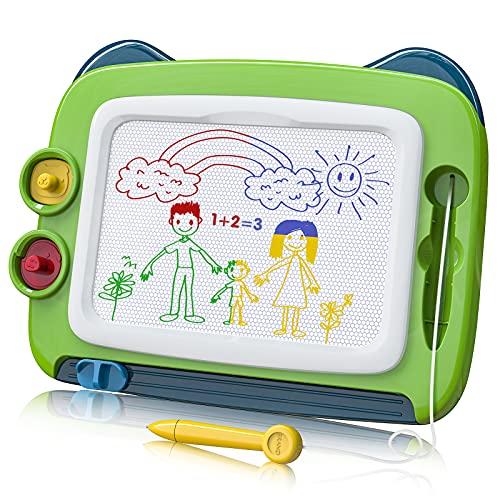 TENOL Maltafel Zaubertafel Spielzeug für 3 Jahre alte Jungen, Kinder Zeichenbrett Jungen Spielzeug Alter...