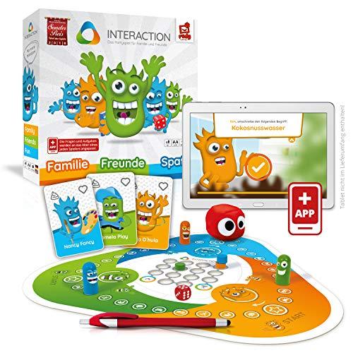 Rudy Games 1 Interaction – Interaktives Familienspiel mit App – Verrücktes Brettspiel mit Mini-Games...