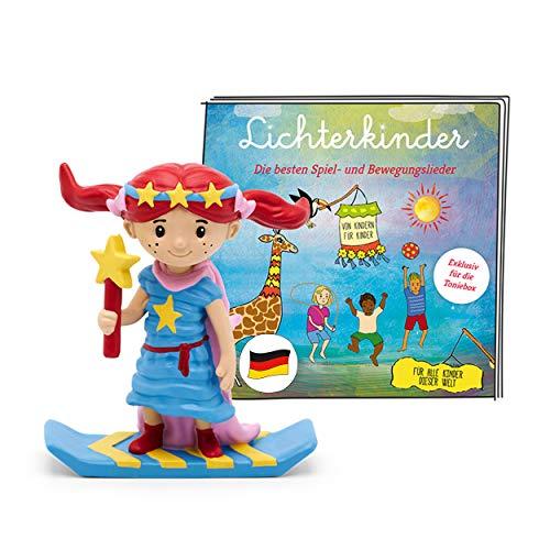 tonies Hörfigur für Toniebox, Lichterkinder – Best of Album der beliebtesten Spiel- und...