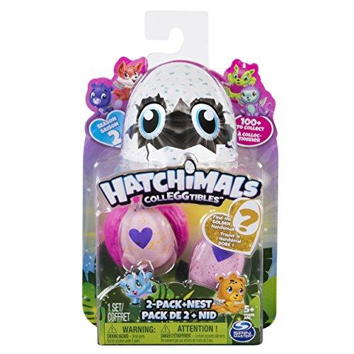 Hatchimals 6041329 - Hatchimals Colleggtibles, 2 Pack + Nest S2
