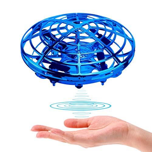 ShinePick UFO Mini Drohne, Kinder Spielzeug Handsensor Quadcopter Infrarot-Induktions-Flying Ball...