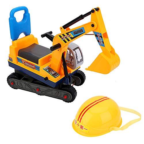 Ejoyous Spielzeug-Bagger Bagger, Sitzbagger Kinderfahrzeug zum Draufsitzen für Kinder ab 3 Jahre für...