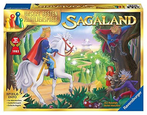 Ravensburger Familienspiel Sagaland, Gesellschaftsspiel für Kinder und Erwachsene, 2-6 Spieler, ab 6...