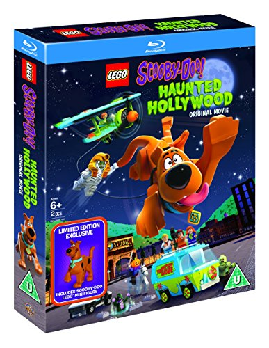 LEGO Scooby-Doo!: Haunted Hollywood (includes Limited Edition LEGO Minifigure) [Blu-ray] [2016]...