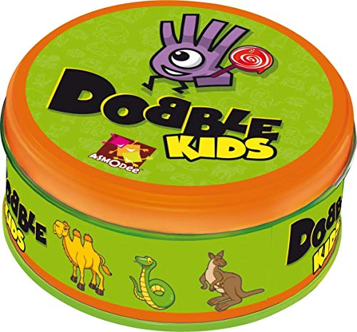 Asmodee Dobble Kids, Kinderspiel, Kartenspiel, Deutsch