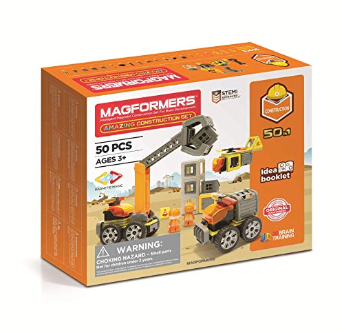 MAGFORMERS GmbH Magformers Amazing Construction Set 50T, bunt