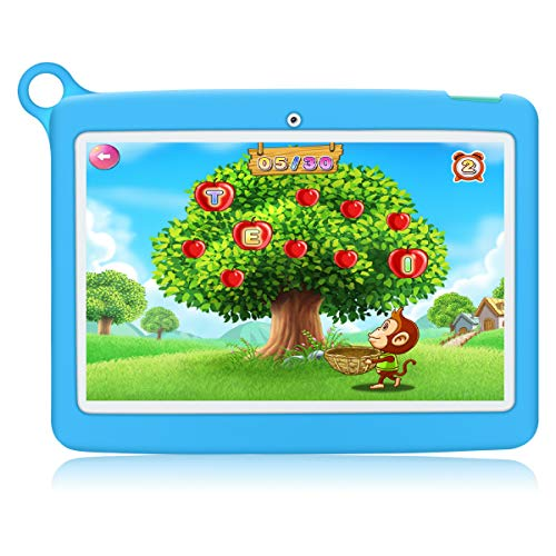 Kinder Tablet 10 Zoll Padgene Android 8.1 Kindertablet Lerntablet für Kids, Mit Kindersicherungsmodus 2...