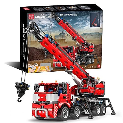 Mould King 17003 Technologie Building Block rammmaschine, app Fernbedienung dynamische Version der...