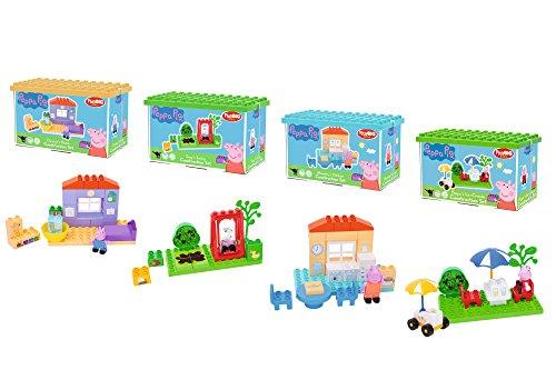 BIG Bloxx Peppa Pig Basic Sets, Einsteiger Set für Peppa Wutz Fans, Construction Set, BIG-Bloxx Set...