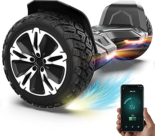 Gyroor Hoverboard 8.5' Offroad Hoverboard G2 Self Balancing Scooter mit Bluetooth-Musiklautsprecher & LED...