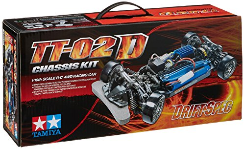 TAMIYA 300058584 - 1:10 TT-02D Drift Spec Chassis