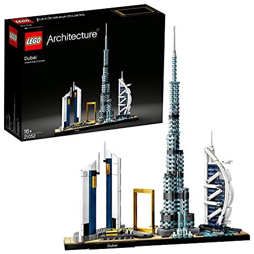 LEGO 21502 Architecture Dubai, Skyline-Kollektion, Modellbausatz, Set zum Stressabbau für Erwachsene und...