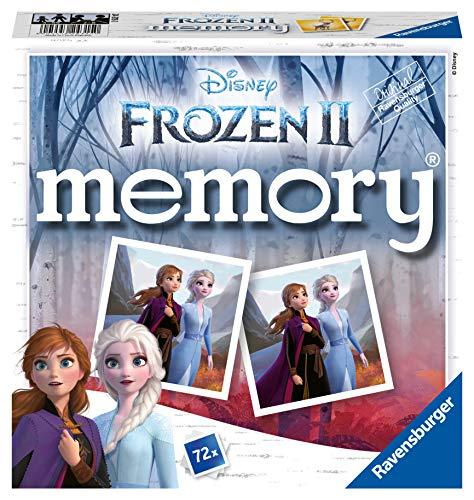 Ravensburger 24315 - Disney Frozen Memory, der Spieleklassiker für alle Frozen Fans, Merkspiel für 2-8...