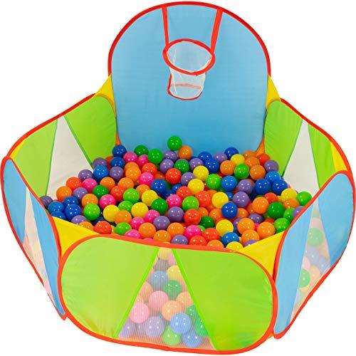 NUBUNI Bällebad für Kinder : Bällepool : Bällebad für Baby : Kleinkind Bällchenpool : Bällchenbad...