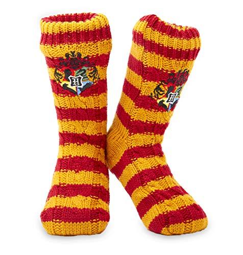 Harry Potter Winter Socken - 1 Paar Kuschelsocken Flauschige - Damen Mädchen Herren Hausschuhsocken mit...