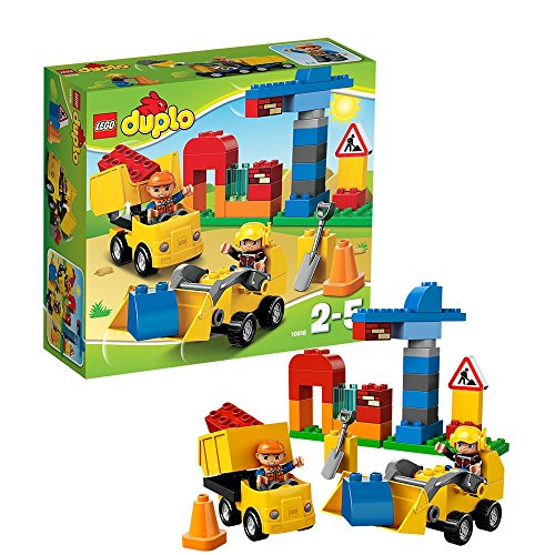 Spielzeug-Baustellenset 'Meine erste Baustelle' von LEGO duplo