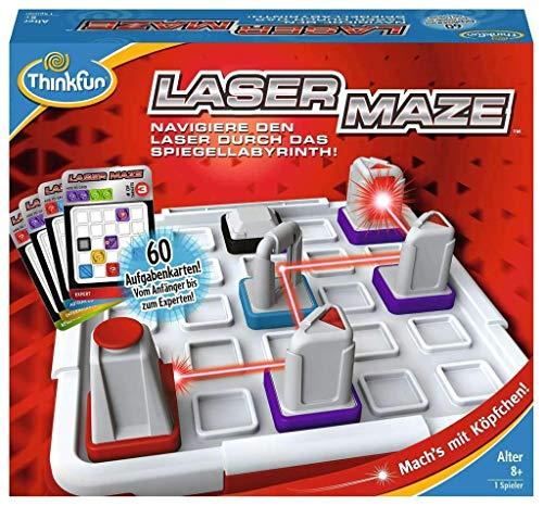 ThinkFun 76356 - Laser Maze - Spiel für Erwachsene und Kinder ab 8 Jahren, Spannendes Logikspiel mit...