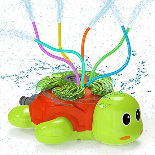 Wasserspielzeug Kinder Sprinkler Kinder Kiztoys,Sommer Wassersprinkler Spielzeug im Schildkröt Design...