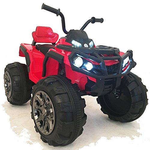 crooza 12V Kinder Quad / ATV mit 2X Motoren Kinderauto Kinderfahrzeug Kinder Elektroauto mit...