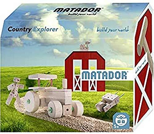 Matador Matador11517 Country Explorer Bausatz, holzfarben, bunt