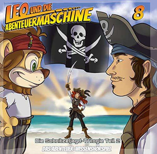 Leo und die Abenteuermaschine Folge 8 - Piraten   Kinderhörspiel