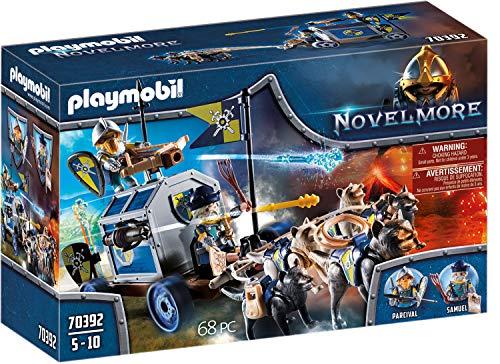 PLAYMOBIL Novelmore 70392 Schatztransport, Für Kinder von 4-10 Jahren