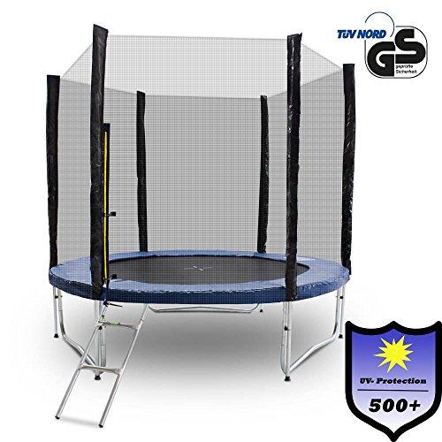 ms-point Gartentrampoline Trampoline Outdoor-Trampoline Fitness-Trampoline 370cm, inkl. Randabdeckung,...