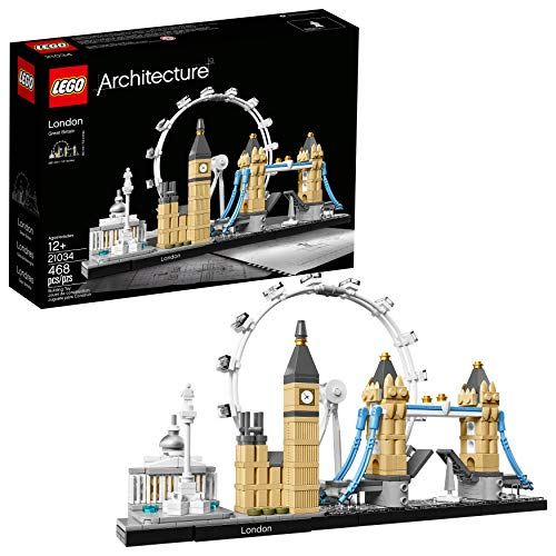 LEGO Architecture London Skyline Collection 21034 Building Set Model Kit and Gift for Kids and Adults...