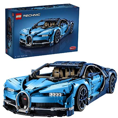 LEGO 42083 Technic Bugatti Chiron, Supersportwagen, exklusives Sammlermodell, Bauset für...