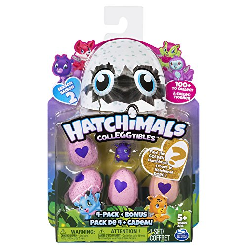Hatchimals CollEGGtibles 4 Pack + Bonus S2