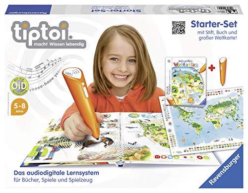 Ravensburger 00504 - Tiptoi Starter-Set: Weltatlas mit Stift
