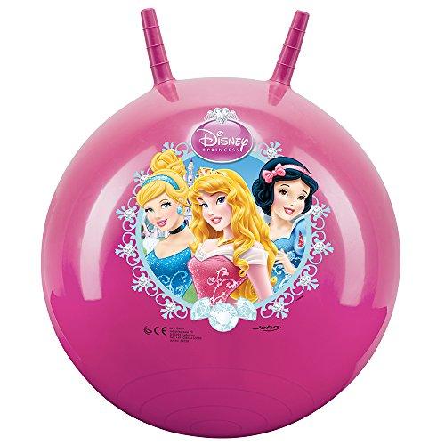 John 59538 - Sprungball Princess / Prinzessinnen - Disney - Bedruckter Hopperball, Hüpfball, Springball,...