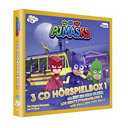 PJ Masks-Pyjamahelden Hörspielbox 1 (3cds)