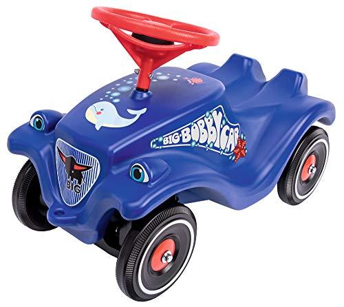 BIG-Bobby-Car Classic Ocean - Kinderfahrzeug mit Aufklebern in Ozean Design, für Jungen und Mädchen,...