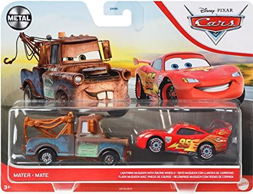 Auswahl Doppelpack   Disney Cars   Fahrzeug Modelle 2020   Cast 1:55   Mattel, Typ:Mater & Lightning...