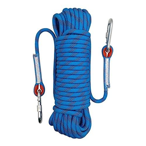 AIRUI Outdoor-Kletterseil, Durchmesser 10mm Kletterseil im Freien, Sicherheitsseil Geflecht Nylon Seil,...