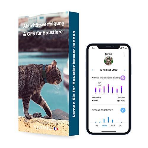 Invoxia Pet Tracker - GPS-Tracker Für Katzen Und Hunde Mit Aktivitätverfolgung - Einschließlich ABO -...