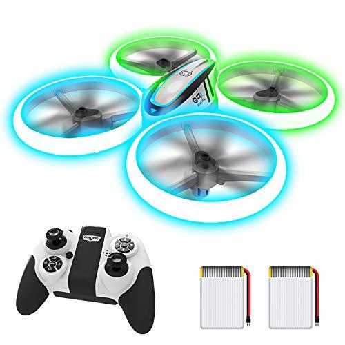 AVIALOGIC Q9s Drone Drohne für Kinder mit Höhehalten und Kopflosem Modus,RC Quadcopter mit Blauen &...