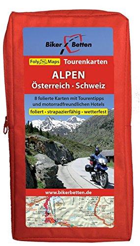 Tourenkarten Set ALPEN Österreich Schweiz (FolyMaps)