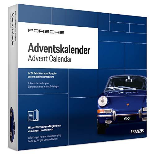 FRANZIS Porsche Adventskalender 2019 | In 24 Schritten zum Porsche unterm Weihnachtsbaum | Neue...