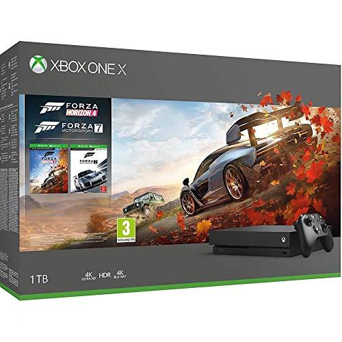 Microsoft Xbox One X - Forza Horizon 4 und Forza Motorsport 7 Bundle