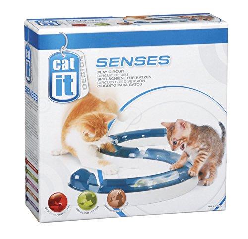 Catit Design Senses Spielschiene, Play Circuit, inklusive Ball, für Katzen