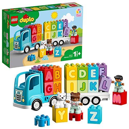 LEGO 10915 DUPLO Mein erster ABC-Lastwagen Set, für Kleinkinder im Alter von 1, 5 Jahren,...