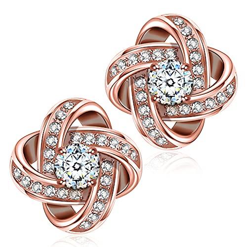 Alex Perry Muttertagsgeschenk Ohrringe Silber 925 Geschenke für Frauen Ohrstecker für Mädchen Geschenk...