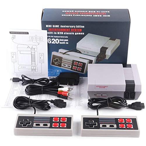 CZSMART Retro TV Spielekonsole,Classic Minispielkonsole Spielkonsolen für Kinder Integriertes 620-Spiel...