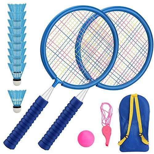 Aceshop Kinder Schläger Set mit Federball, Badminton Racket Spielzeug Draussen Spielzeug für Kinder ab...