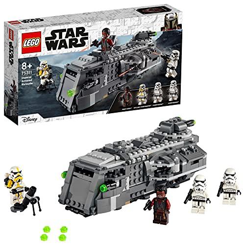 LEGO 75311 Star Wars Imperialer Marauder, Bauset Für Kinder Ab 8 Jahren, Mandalorian-Modell Mit 4...