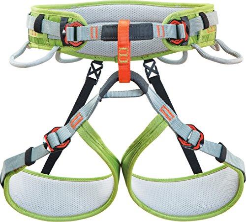 Climbing Technology Ascent, Geschirr Unisex Kinder, Grün/Grau, XXS