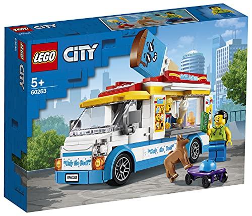 LEGO60253CityEiswagenSpielzeugmitSkater-undHundefigur,BausetfürKinderab5Jahre...
