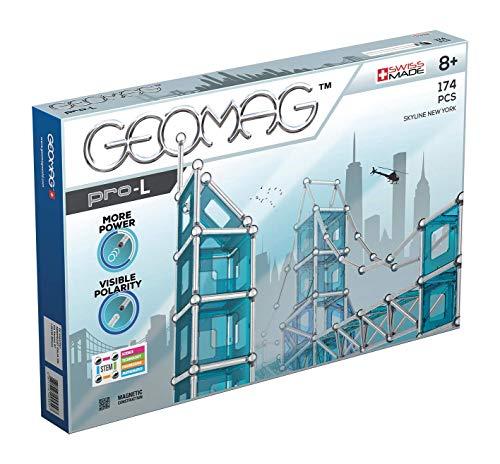 Geomag, Pro-L Skyline New York 027, Magnetkonstruktionen und Lernspiele, Konstruktionsspielzeug,...